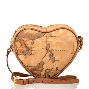 1A Classe Alviero Martini Geo Classic Line – Heart shaped Shoulder Bag D043